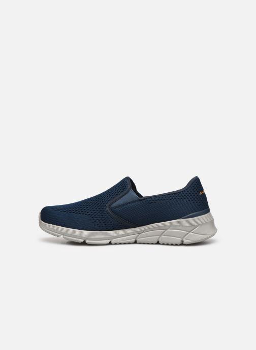 Sneaker Skechers EQUALIZER 4.0 Triple-play blau ansicht von vorne