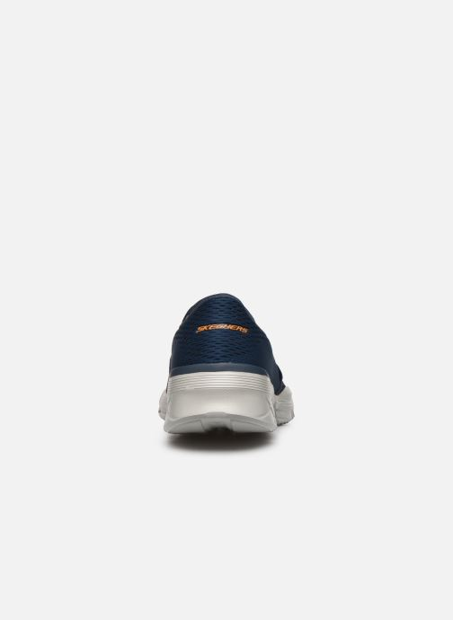 Sneaker Skechers EQUALIZER 4.0 Triple-play blau ansicht von rechts
