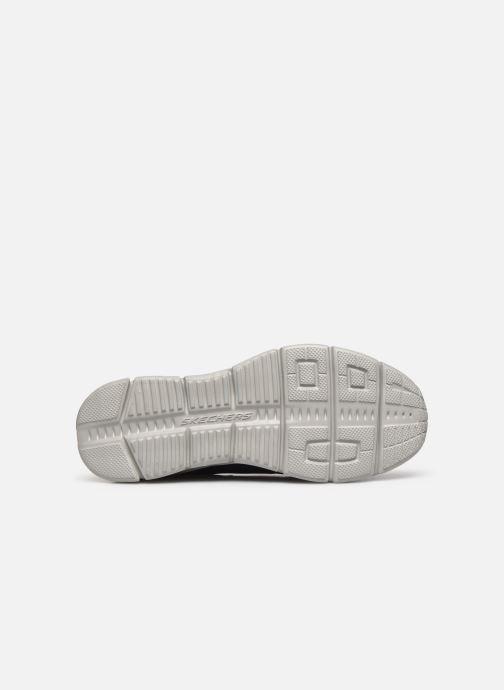 Sneaker Skechers EQUALIZER 4.0 Triple-play blau ansicht von oben