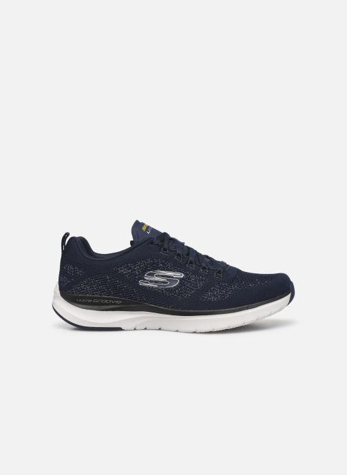 Sneaker Skechers ULTRA GROOVE blau ansicht von hinten