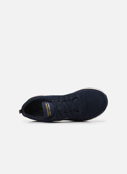 Sneaker Skechers ULTRA GROOVE blau ansicht von links