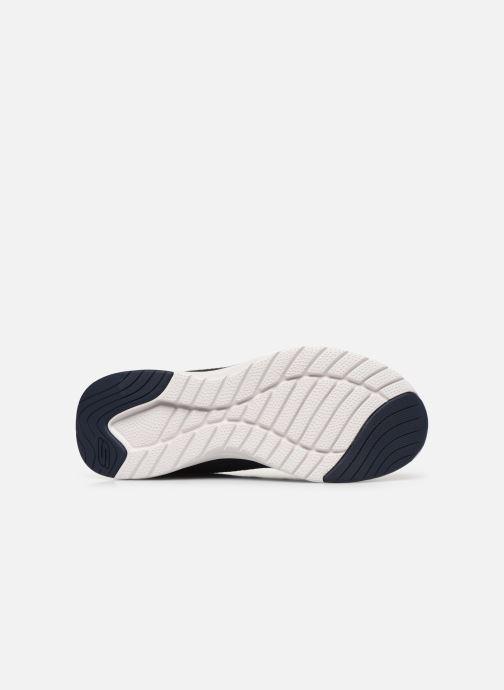 Sneaker Skechers ULTRA GROOVE blau ansicht von oben