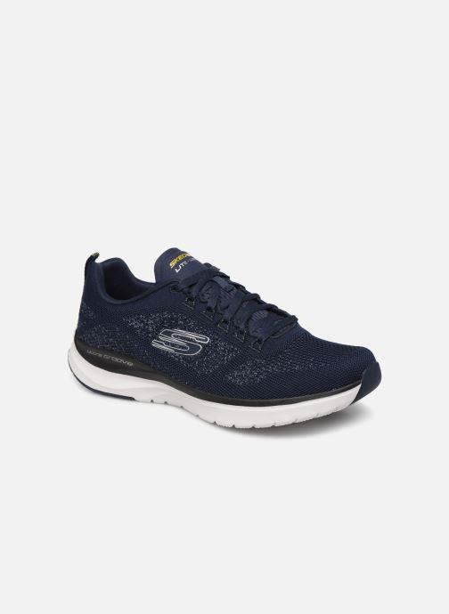 Sneaker Skechers ULTRA GROOVE blau detaillierte ansicht/modell