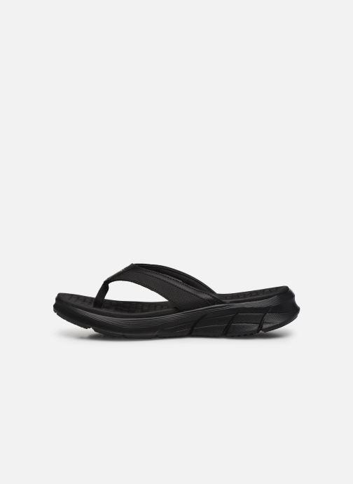 Chanclas Skechers EQUALIZER 4.0 Sandal Seraza Negro vista de frente