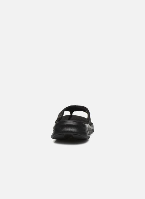 Chanclas Skechers EQUALIZER 4.0 Sandal Seraza Negro vista lateral derecha