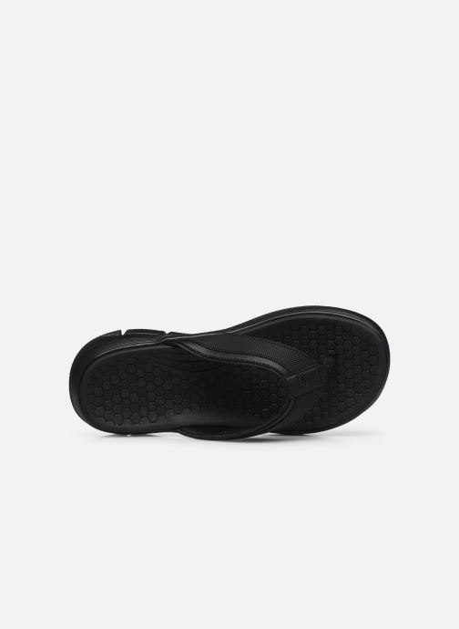 Chanclas Skechers EQUALIZER 4.0 Sandal Seraza Negro vista lateral izquierda