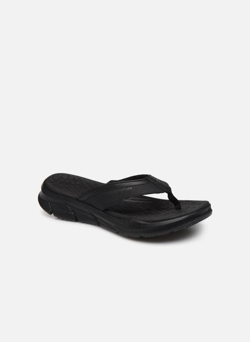 Chanclas Skechers EQUALIZER 4.0 Sandal Seraza Negro vista de detalle / par