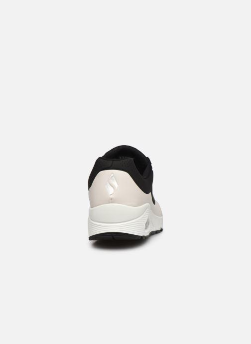 Sneaker Skechers UNO schwarz ansicht von rechts