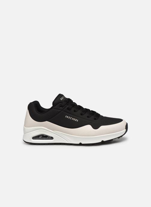 Sneaker Skechers UNO schwarz ansicht von hinten