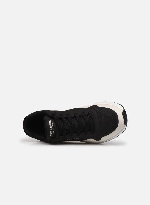 Sneaker Skechers UNO schwarz ansicht von links