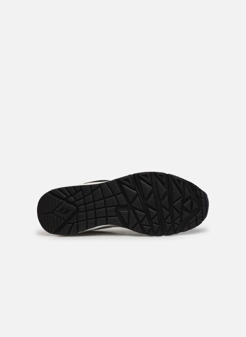 Sneaker Skechers UNO schwarz ansicht von oben