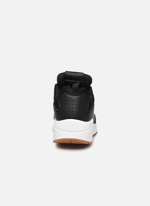 Sneaker Skechers UNO FASTIME schwarz ansicht von rechts