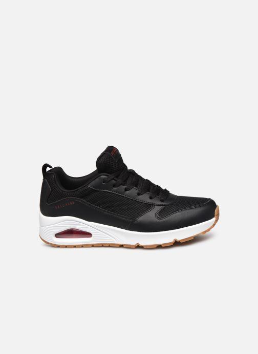 Sneaker Skechers UNO FASTIME schwarz ansicht von hinten
