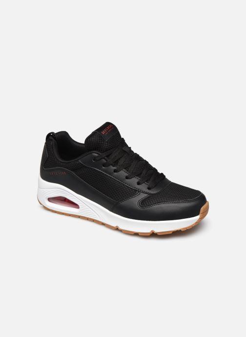 Sneaker Skechers UNO FASTIME schwarz detaillierte ansicht/modell