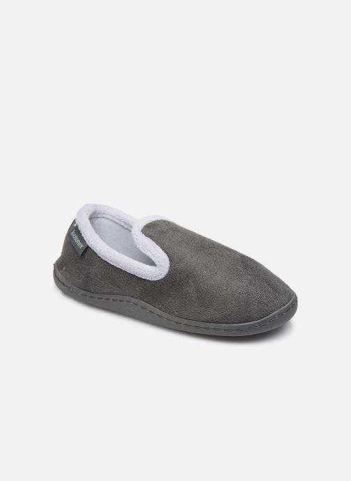 Pantofole Isotoner Charentaise Grigio vedi dettaglio/paio