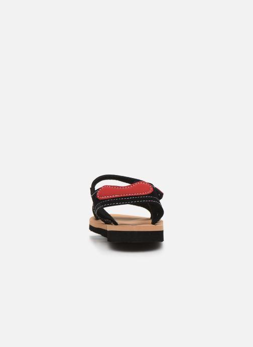 Sandali e scarpe aperte Isotoner Sandales Garçon Nero immagine destra