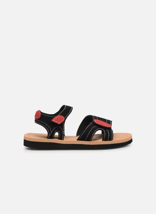 Sandali e scarpe aperte Isotoner Sandales Garçon Nero immagine posteriore