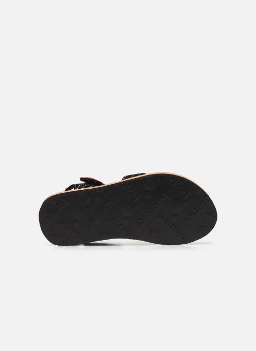 Sandali e scarpe aperte Isotoner Sandales Garçon Nero immagine dall'alto