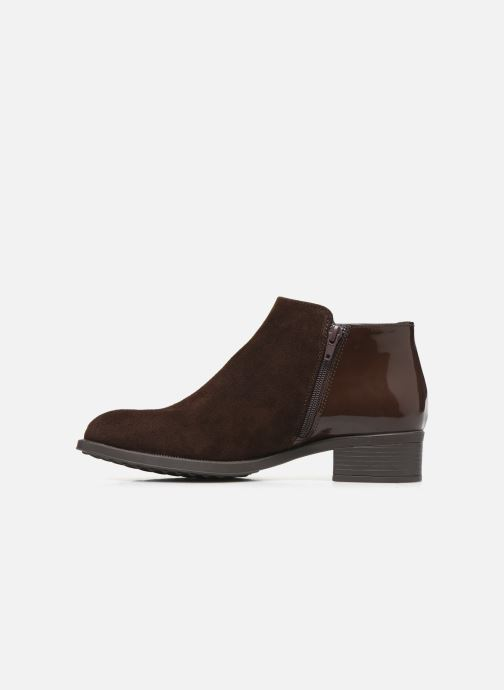 Bottines et boots Bluegenex B-Oxford 476 Marron vue face