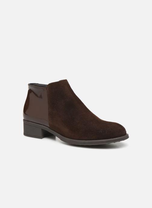 Bottines et boots Bluegenex B-Oxford 476 Marron vue détail/paire