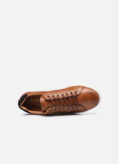 Baskets Pantofola d'Oro Arona Uomo Low Marron vue gauche