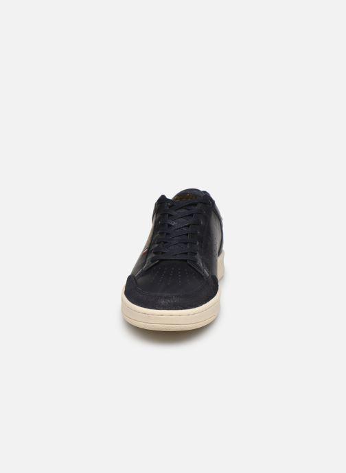 Baskets Pantofola d'Oro Caltaro Uomo Low Bleu vue portées chaussures