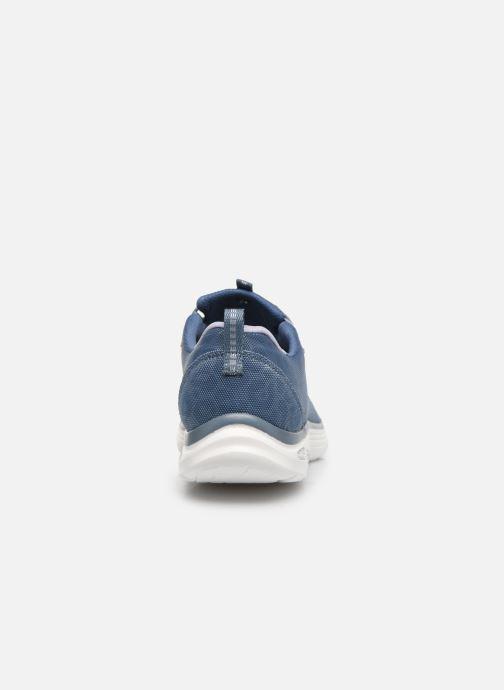 Baskets Skechers EMPIRE D'LUX SPOTTED Bleu vue droite