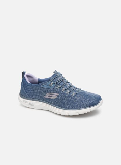 Baskets Skechers EMPIRE D'LUX SPOTTED Bleu vue détail/paire