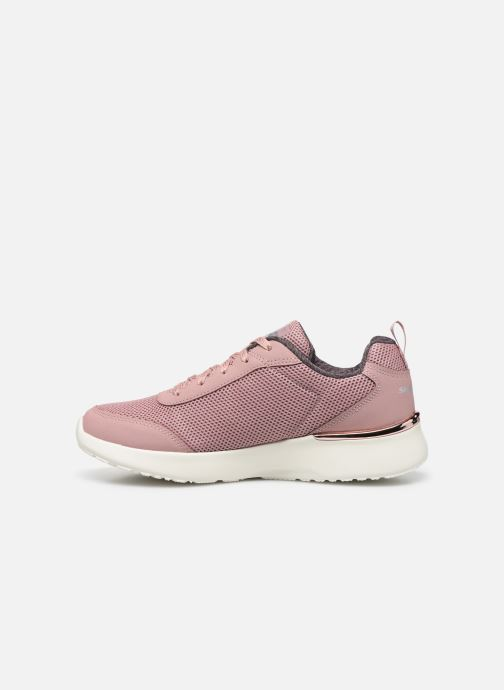Deportivas Skechers SKECH-AIR DYNAMIGHT FAST BRAKE Rosa vista de frente