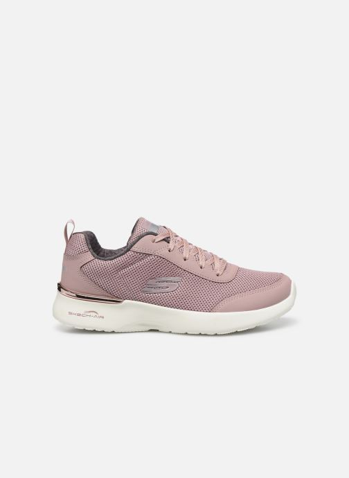 Baskets Skechers SKECH-AIR DYNAMIGHT FAST BRAKE Rose vue derrière