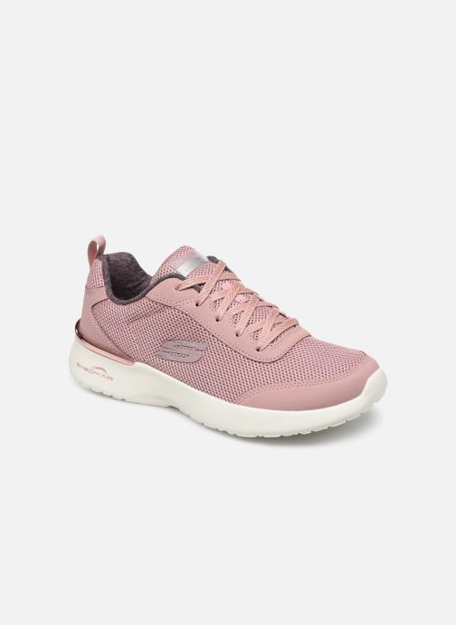 Baskets Skechers SKECH-AIR DYNAMIGHT FAST BRAKE Rose vue détail/paire
