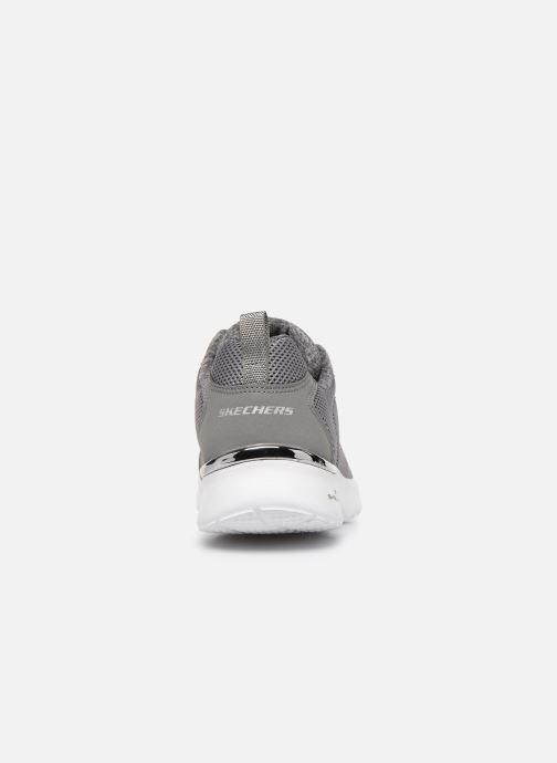 Sneakers Skechers SKECH-AIR DYNAMIGHT FAST BRAKE Grå Se fra højre