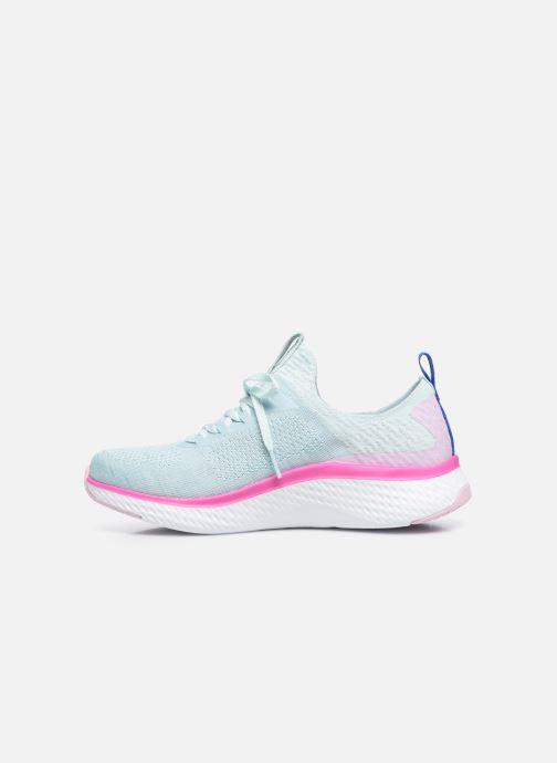 Sneakers Skechers SOLAR FUSE W Azzurro immagine frontale
