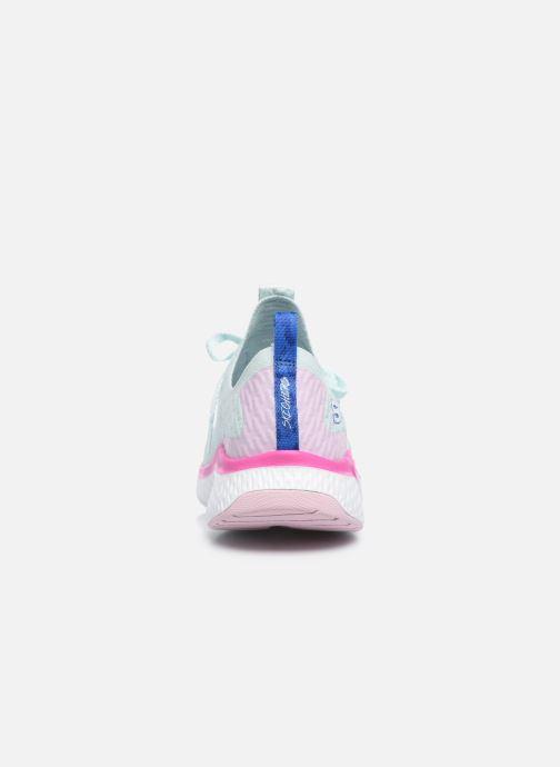 Baskets Skechers SOLAR FUSE W Bleu vue droite