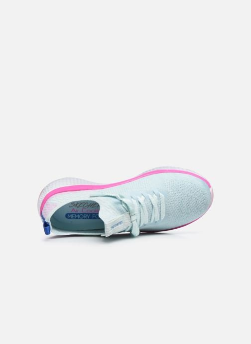 Sneakers Skechers SOLAR FUSE W Azzurro immagine sinistra