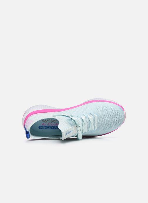 Baskets Skechers SOLAR FUSE W Bleu vue gauche