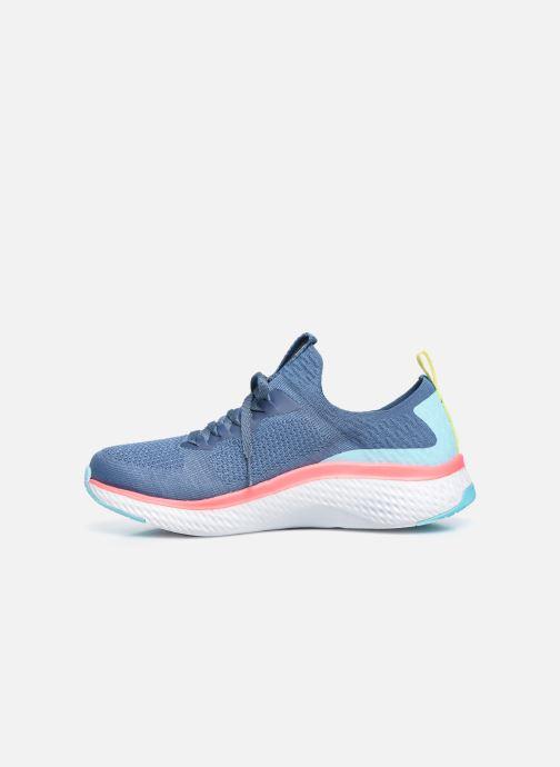 Baskets Skechers SOLAR FUSE W Bleu vue face