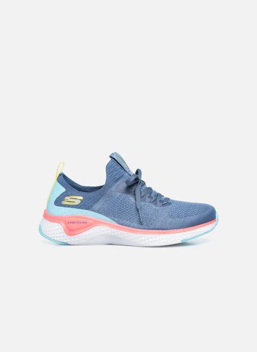 Baskets Skechers SOLAR FUSE W Bleu vue derrière