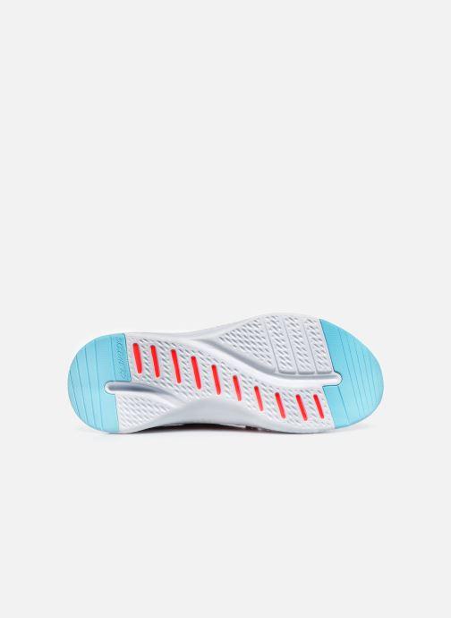 Baskets Skechers SOLAR FUSE W Bleu vue haut