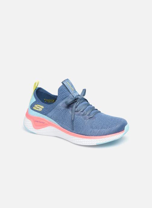 Baskets Skechers SOLAR FUSE W Bleu vue détail/paire
