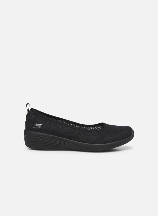 Pantoffels Skechers ARYA AIRY DAYS Zwart achterkant
