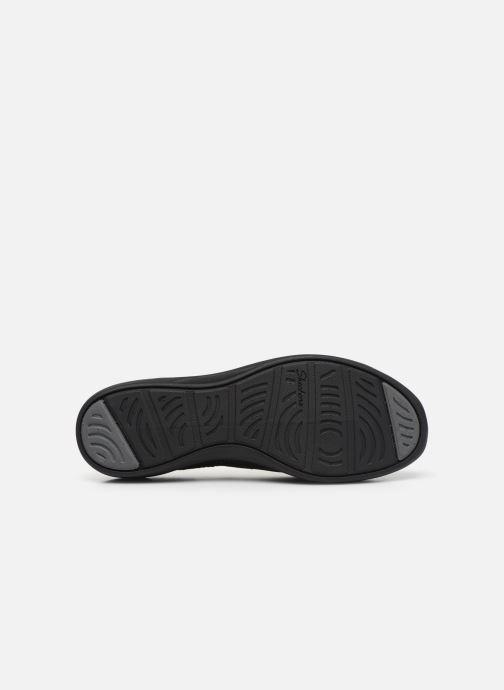 Pantuflas Skechers ARYA AIRY DAYS Negro vista de arriba