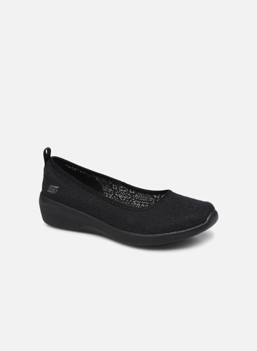 Chaussons Skechers ARYA AIRY DAYS Noir vue détail/paire