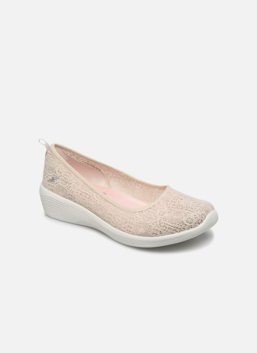 Chaussons Skechers ARYA AIRY DAYS Beige vue détail/paire