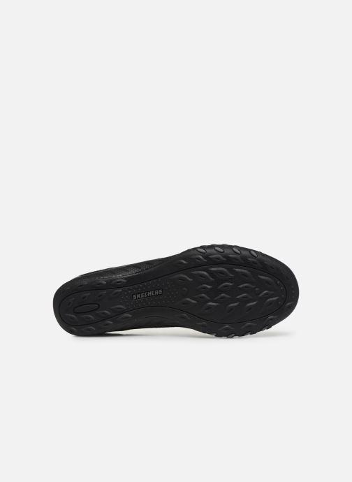 Baskets Skechers BREATHE-EASY OPPORTUKNITY Noir vue haut