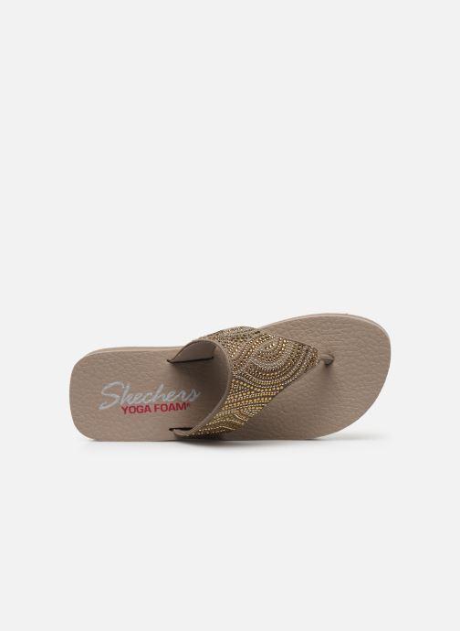 Slippers Skechers VINYASA STONE CANDY Beige links