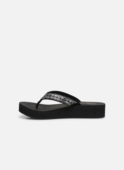 Slippers Skechers VINYASA GLORY DAY Zwart voorkant