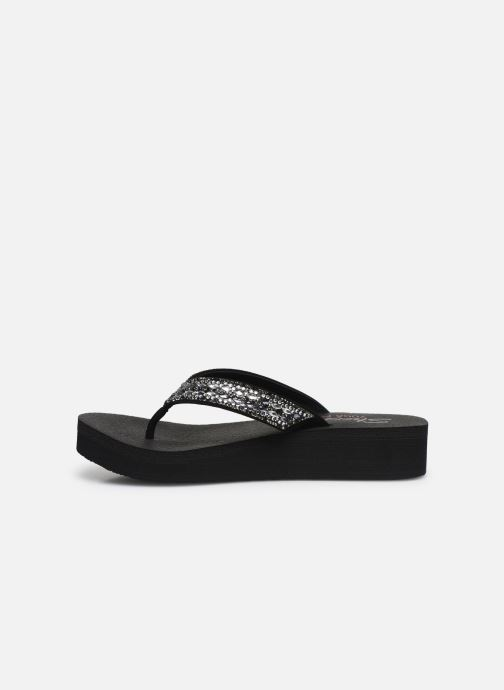 Tongs Skechers VINYASA GLORY DAY Noir vue face