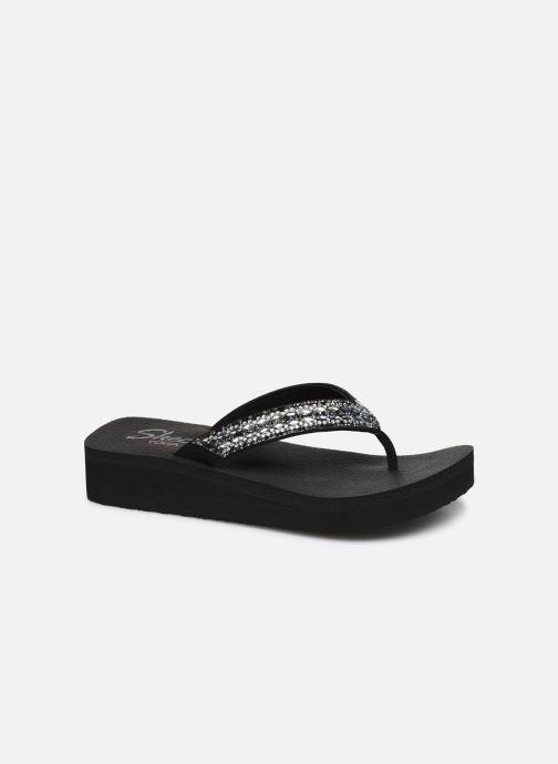 Slippers Skechers VINYASA GLORY DAY Zwart detail
