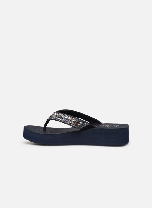 Tongs Skechers VINYASA GLORY DAY Bleu vue face